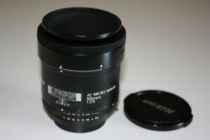 Nikon AF Micro 55mm 2.8  Nikkor MACRO LENS in Mint Condition