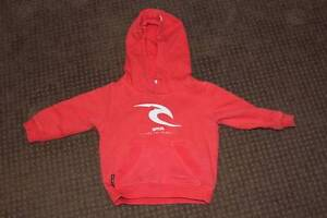 EUC RipCurl Hoodie Jumper, size 0, orange Ballajura Swan Area Preview