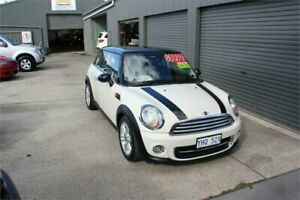 2011 Mini Cooper R56 MY11 Pepper White 6 Speed Automatic Hatchback Mitchell Gungahlin Area Preview