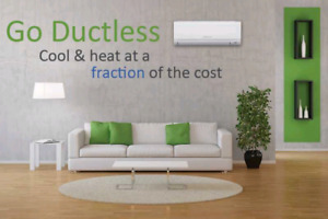Ductless Mini Split Heat Pumps