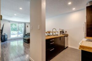 Lowest priced, fully renovated 1 bed. + den in Whistler!
