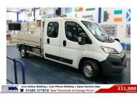 2016 - 65 - CITROEN RELAY 35 2.2HDI 130PS L3 DOUBLE CAB TIPPER (GUIDE PRICE)