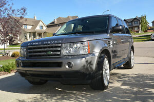 2009 Land Rover Range Rover Sport HSE SUV, Crossover