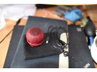 Portable speaker amazing sound quality SD card reader