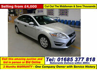 2012 - 12 - FORD MONDEO EDGE 1.6TDCI 5 DOOR HATCHBACK (GUIDE PRICE)