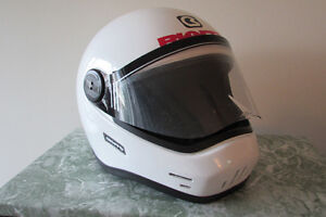 Ladies' - White Motorcycle Helmet