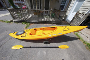 Pamlico 120 Wilderness Systems Kayak, Paddle and Carry System