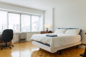 4 1/2 Furnished or Unfurnished on McGill Campus / Lease Transfer