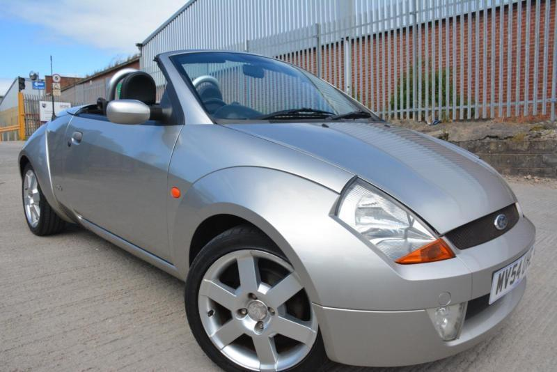 ford streetka luxury 1 6 convertible full leather great. Black Bedroom Furniture Sets. Home Design Ideas