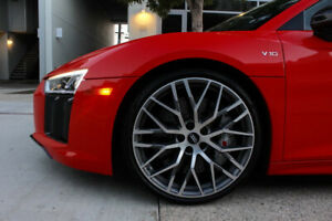 """2017 AUDI R8/SQ5 22"""" Rims and GOODYEAR EAGLE TIRES"""