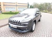 SOLD NOW2016 Jeep Cherokee 2.0 CRD Auto 4x4 Longitude left hand drive lhd UK reg