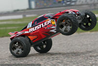 """COMPLETE TRAXXAS RUSTLER RC RACING LIPO PACKAGE DEAL"""