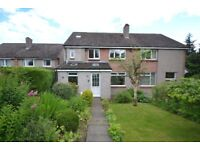 Bright and Spacious Four Bedroom Family Home in Peaceful Area of Penicuik