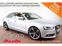 2014 Audi A4 2.0TDIe (136ps) SE Technik-LED'S-XENONS-NAV-FULL LOADED-F.A.S.H.