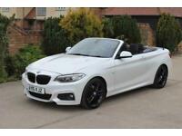 2015 BMW 2 Series 2.0 220D M SPORT 2d 188 BHP AUTO Convertible Diesel Manual