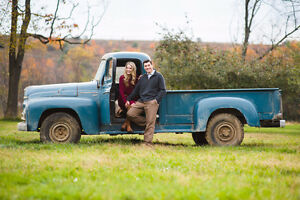 Request to Rent Antique Pick-Up for Photo Opp. (Not Driving)
