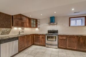 Bright Spacious 3 bedroom basement for rent