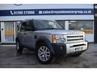 GOOD CREDIT CAR FINANCE AVAILABLE 2007 07 Land Rover Discovery 3 2.7TD