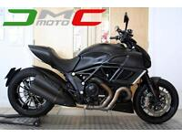 2013 Ducati Diavel Dark 14,867 Miles 1 Owner Matt Black FSH