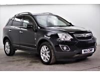 2013 Vauxhall Antara SE CDTI Diesel black Manual