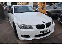 BAD CREDIT CAR FINANCE AVAILABLE 2012 62 BMW 320d M SPORT PLUS COUPE SAT NAV