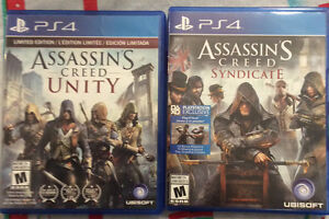 Assassins Creed (Unity and Syndicate)