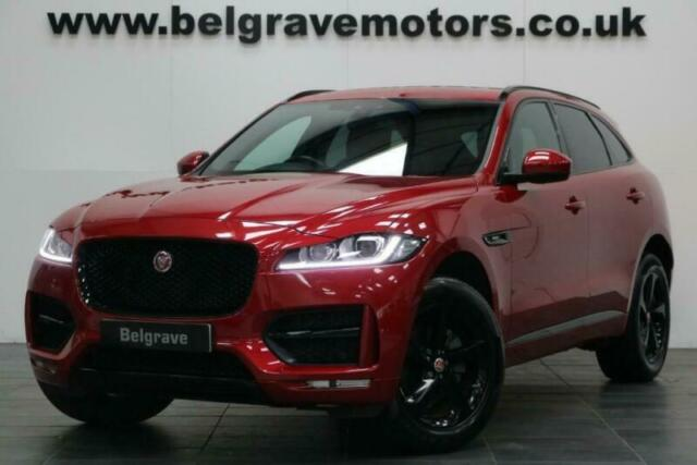 Jaguar F Pace R Sport Awd Auto Black Pack Sat Nav Contrast Leather 53 Mpg In Sheffield South Yorkshire Gumtree