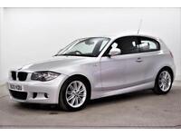 2010 BMW 1 Series 116I M SPORT Petrol silver Automatic