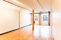 ST.HENRI - Commercial Loft - 837 sqft