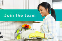 HOUSE CLEANING JOB!! NOW HIRING HOUSE CLEANERS!! $17/HR
