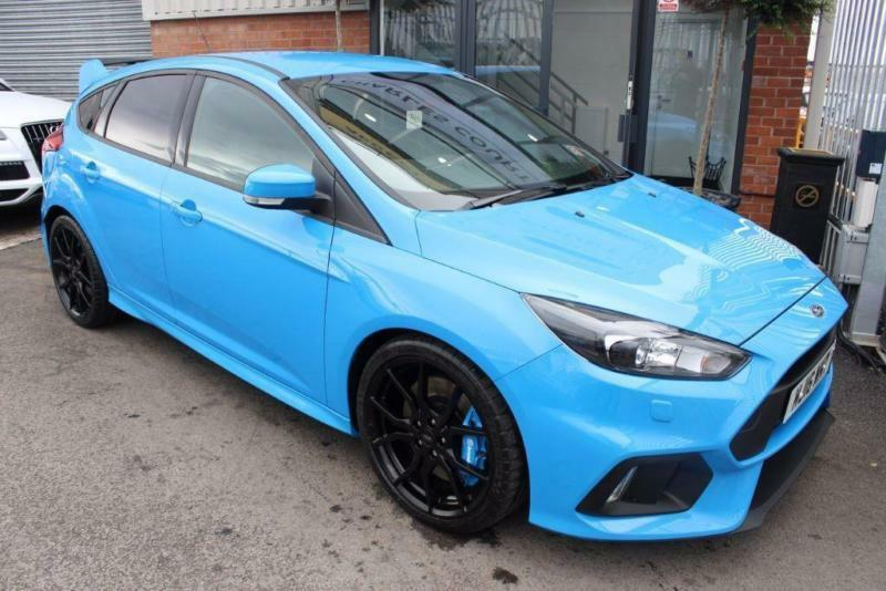 Ford Focus RS-RECARO SHELL SEATS-LUX PACK- NAV