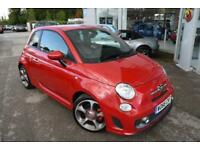 2016 Abarth 500 1.4 T-Jet Turismo 3dr Petrol red Manual