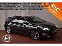 2012 Hyundai i40 1.7CRDi Premium-SAT NAV-FULL HEATED LEATHER-PARK SYSTEM-B.TOOTH