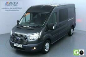 2018 Ford Transit 2.0 350 Trend L3 H2 130 BHP 6 Seats Combi Euro 6 Low Emission