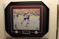PK Subban signed autograph Montreal Canadiens frame