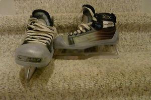 Bauer XIX goalie skates, size 3D