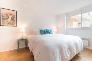 Fully Furnished 2 bed- INCLD ELEC, HEAT, WIFI, LAUNDRY & PARKING