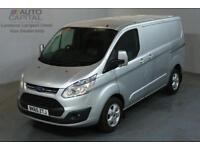 FORD TRANSIT CUSTOM 2.2 270 LIMITED 124 BHP L1 H1 SWB LOW ROOF A/C