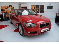 2013 BMW 1 Series 2Litre SE Diesel BluePerformance Sports Hatch Automatic in Red