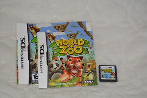 DS game World of Zoo