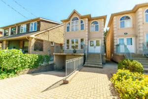 Spacious 3-Bedroom detached House in Danforth Area close to T/D