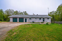 6.79 ACRE HOBBY FARM WITH 465ft OF WATER FRONT!