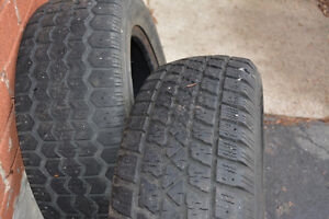Two 185/65R14 Winter tires $25 for both London Ontario image 1