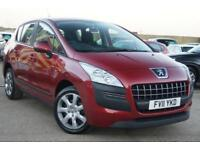 PEUGEOT 3008 1.6 HDI ACTIVE 115 BHP SERVICE HISTORY + JUST SERVICED + MOT 2019