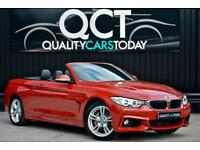 2015 '65' BMW 435d xDrive M Sport Convertible Diesel 4X4 Auto *x4 New Run Flats*