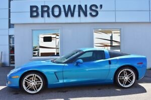 2008 Chevrolet Corvette Coupe W/Leather Interior & Low KM's