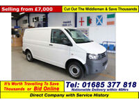 2011 - 61 - VOLKSWAGEN TRANSPORTER T28 2.0TDI 102PS SWB VAN (GUIDE PRICE)