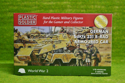 The Plastic Soldier Company – WW2V20025 – SdKfz 231 8 rad