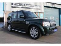 2011 Land Rover Discovery AUTO DISCO 4 3.0SDV6 XS 255ps Diesel green Automatic