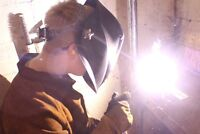 CWB certified welder with two years expirience